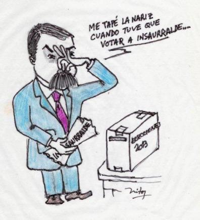 Anibal Fernandez votando 001