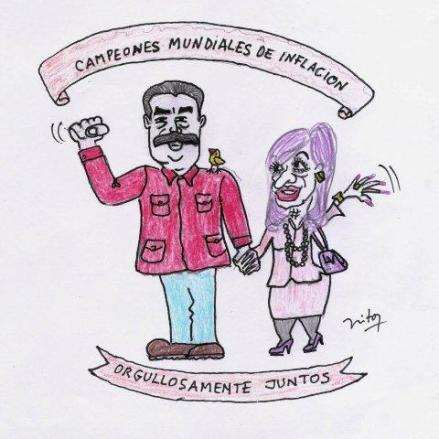 Cristina y Maduro - Inflacion 001
